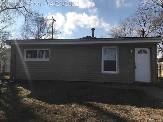 72 Lakeside Street, Pontiac, MI 48340 (#2210027265) :: Keller Williams West Bloomfield