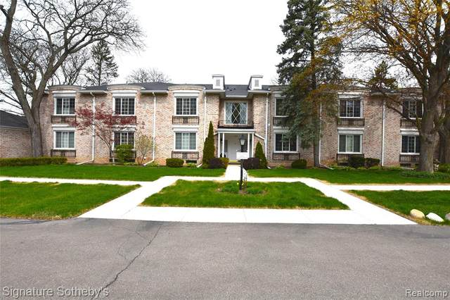 1735 Tiverton Rd Unit 13, Bloomfield Hills, MI 48304 (#2210027415) :: Real Estate For A CAUSE