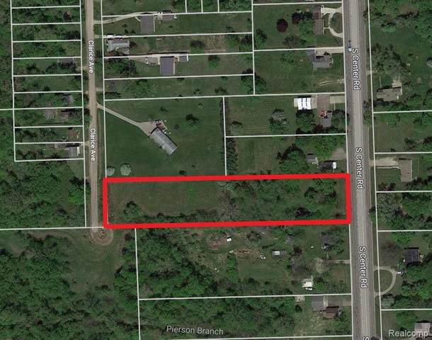 Parcel A S Center Road, Burton, MI 48529 (#2210027927) :: Novak & Associates