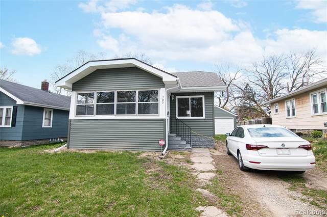 705 Saint Clair Avenue, Flint, MI 48504 (#2210028219) :: Real Estate For A CAUSE