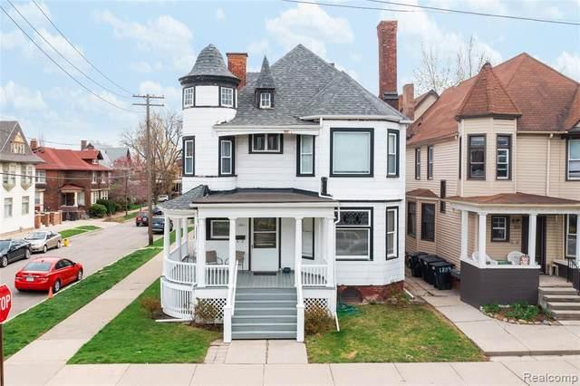 1801 Church Street, Detroit, MI 48216 (#2210028268) :: Real Estate For A CAUSE