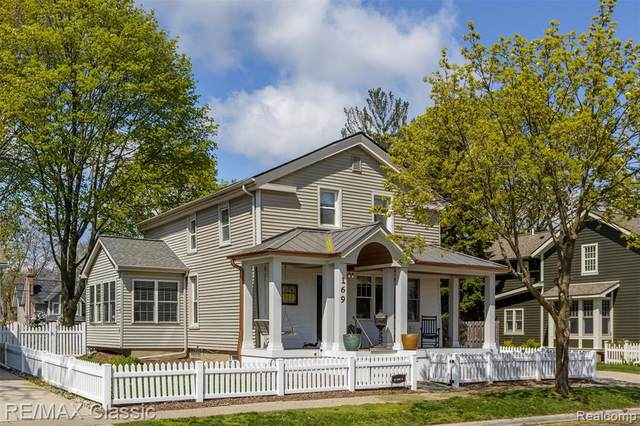 169 Adams Street, Plymouth, MI 48170 (#2210028325) :: RE/MAX Nexus