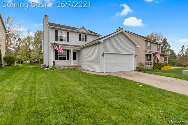 406 Mill Pond Drive, Fenton, MI 48430 (#2210029102) :: Real Estate For A CAUSE