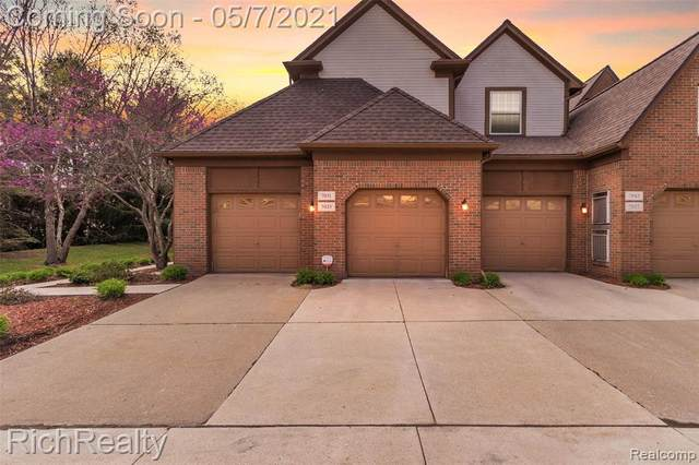 7031 Copper Creek Circle #34, Canton Twp, MI 48187 (#2210029297) :: Real Estate For A CAUSE