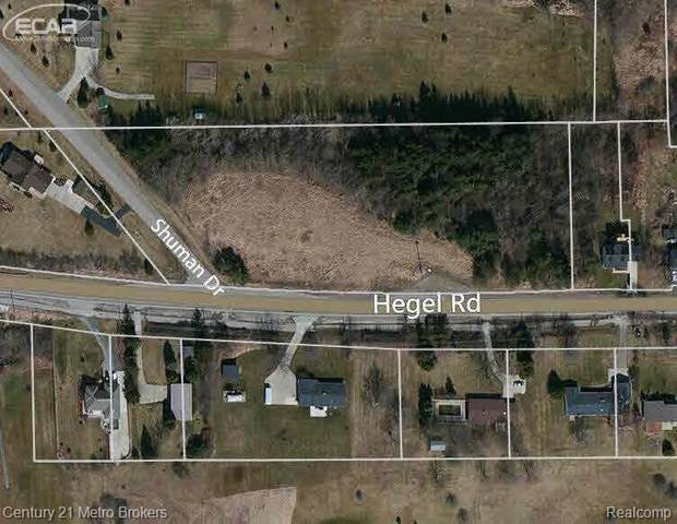 0 Hegel Road, Goodrich Vlg, MI 48438 (#2210029455) :: Real Estate For A CAUSE