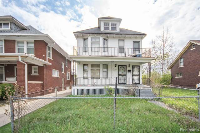 6015 Pennsylvania Street, Detroit, MI 48213 (#2210029502) :: Real Estate For A CAUSE
