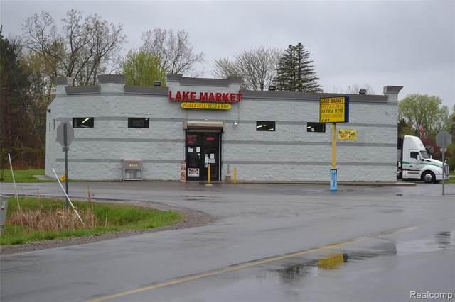 1372 E Lake Road, Thetford Twp, MI 48463 (#2210030290) :: RE/MAX Nexus