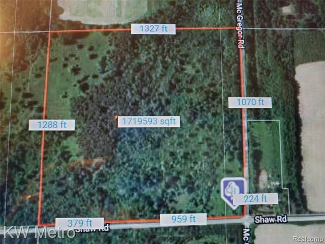 0 E Shaw & N Mcgregor Road, Haynes Twp, MI 48740 (#2210030376) :: Real Estate For A CAUSE