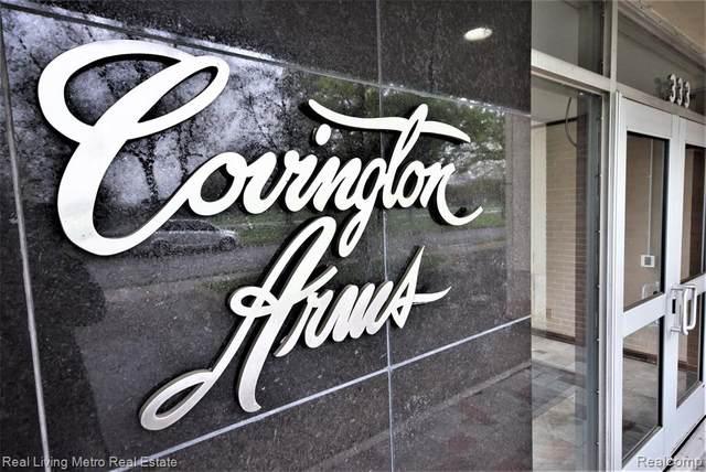 333 Covington Drive 3C, Detroit, MI 48203 (#2210030759) :: Novak & Associates