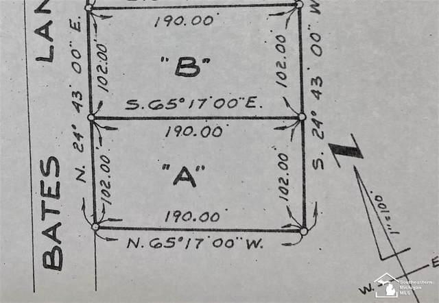 Parcel B Bates Lane, Frenchtown Twp, MI 48162 (#57050040379) :: The Alex Nugent Team | Real Estate One