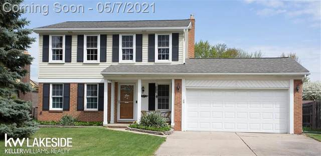 11693 Whitehall Dr, Sterling Heights, MI 48313 (#58050040507) :: Real Estate For A CAUSE