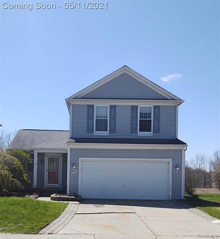 10320 Edgewater Trail, Grand Blanc Twp, MI 48442 (#2210031188) :: Real Estate For A CAUSE