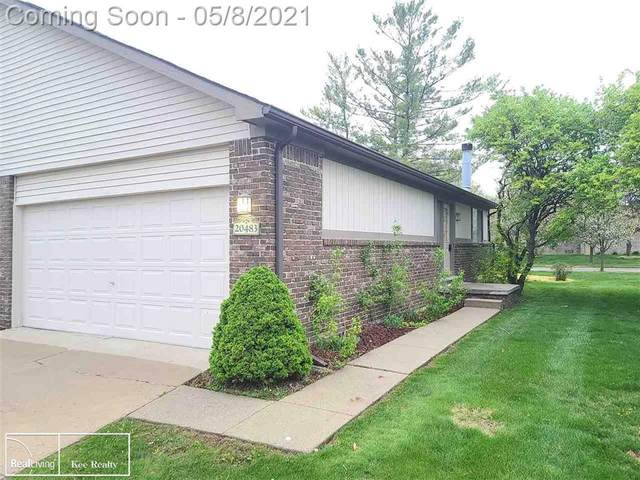 20483 Brandonwood Dr, Clinton Twp, MI 48038 (#58050040601) :: Real Estate For A CAUSE