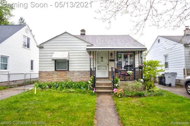 1437 E Milton Avenue, Hazel Park, MI 48030 (#2210031664) :: RE/MAX Nexus