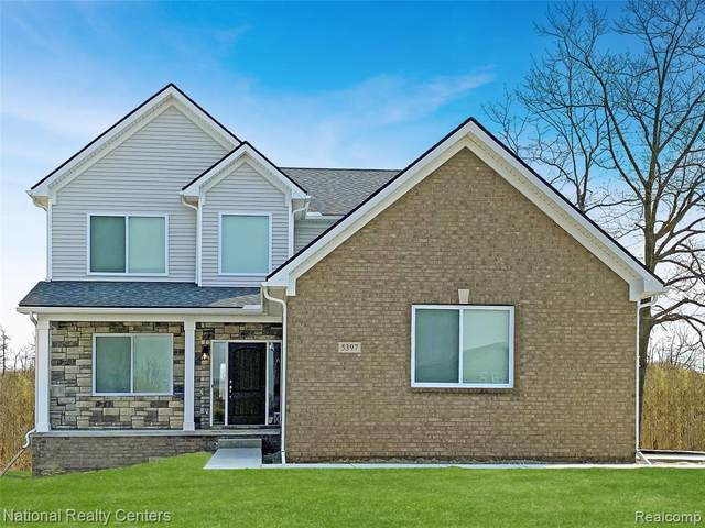 21 Fairway View Drive, Oxford Twp, MI 48371 (#2210031808) :: Real Estate For A CAUSE
