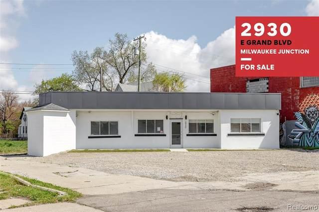 2930 E Grand Boulevard, Detroit, MI 48202 (#2210031845) :: Robert E Smith Realty