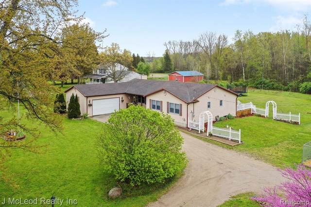 1228 E Lake Road, Thetford Twp, MI 48420 (#2210031899) :: Real Estate For A CAUSE