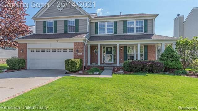 746 Huntington Drive, South Lyon, MI 48178 (#2210031916) :: GK Real Estate Team