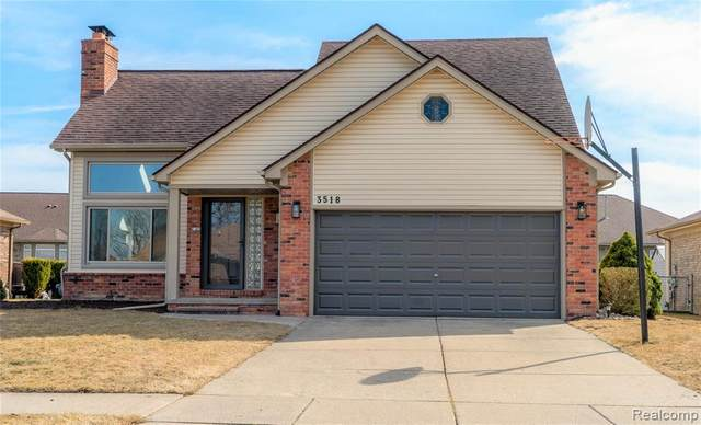 3518 Yardly, Sterling Heights, MI 48310 (#2210032080) :: Novak & Associates