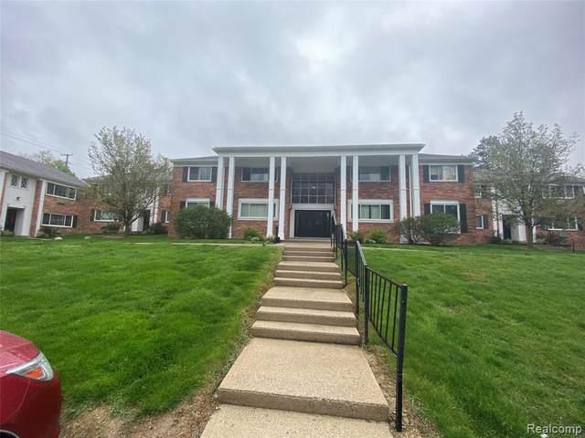 525 Fairbrook Street #109, Northville, MI 48167 (#2210032122) :: Duneske Real Estate Advisors