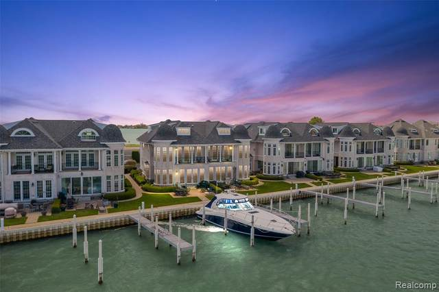 33110 Venetian Pointe Drive, Harrison Twp, MI 48045 (#2210032173) :: Novak & Associates