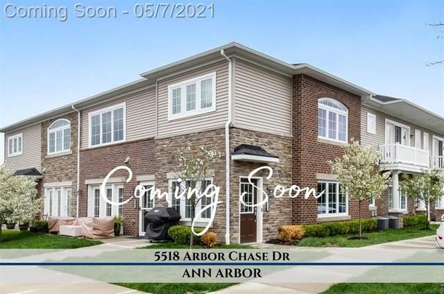 5518 Arbor Chase Drive, Scio, MI 48103 (#543280643) :: Real Estate For A CAUSE