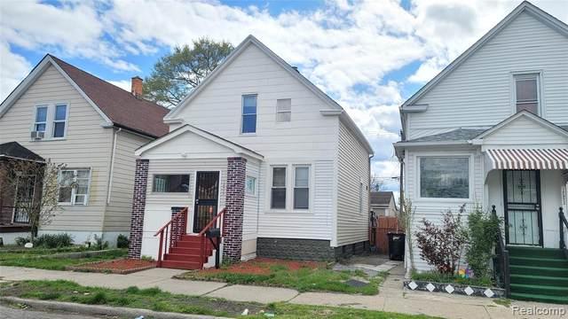 12517 Gallagher Street, Detroit, MI 48212 (#2210032397) :: The Mulvihill Group