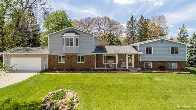 16244 Whitaker Road, Fenton Twp, MI 48451 (#2210032446) :: Real Estate For A CAUSE
