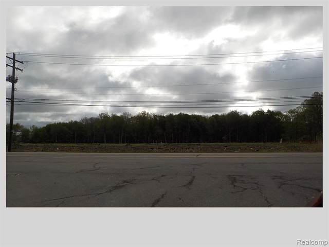 00 Gratiot Avenue, Chesterfield Twp, MI 48051 (#2210032631) :: Real Estate For A CAUSE