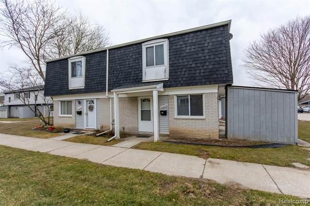 41229 S Woodbury Green Drive, Van Buren Twp, MI 48111 (#2210033048) :: GK Real Estate Team