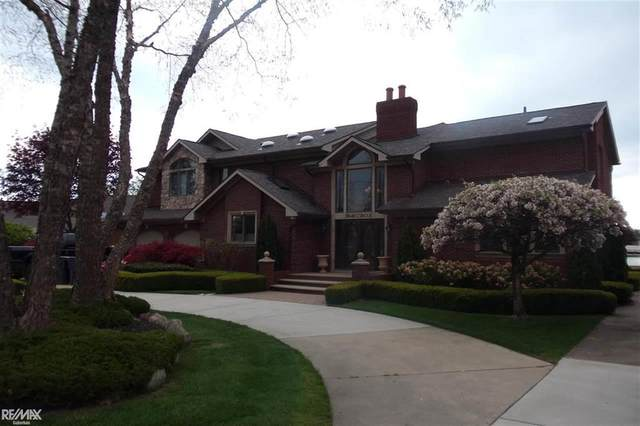 38140 Circle  Drive, Harrison Twp, MI 48045 (#58050041084) :: Real Estate For A CAUSE