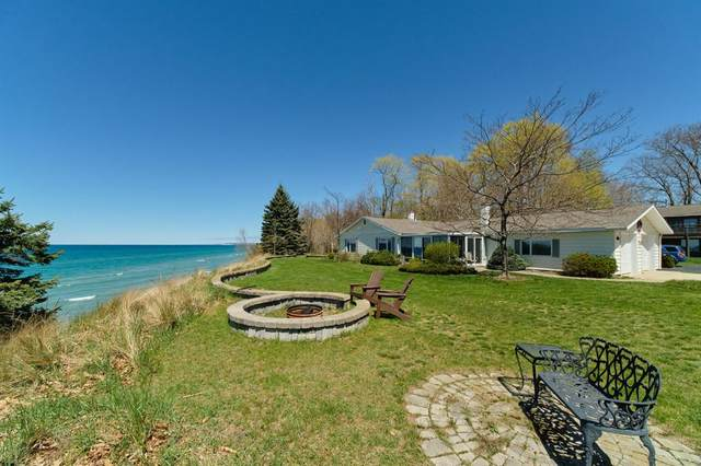 4010 Lakeshore Road, Manistee Twp, MI 49660 (#67021016115) :: NextHome Showcase