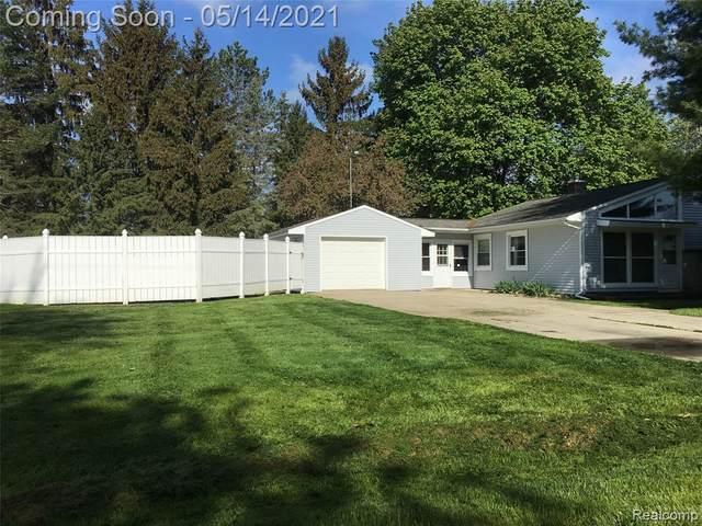 3165 Amelia Avenue, Mt. Morris Twp, MI 48433 (#2210033481) :: Real Estate For A CAUSE