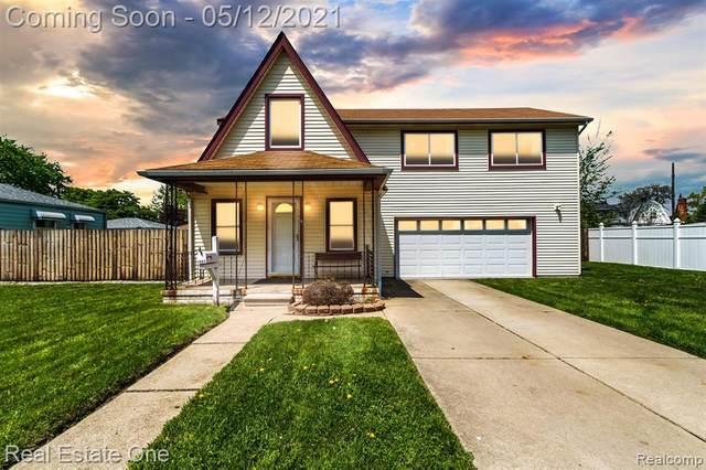 1462 Empire Avenue, Lincoln Park, MI 48146 (#2210033618) :: GK Real Estate Team