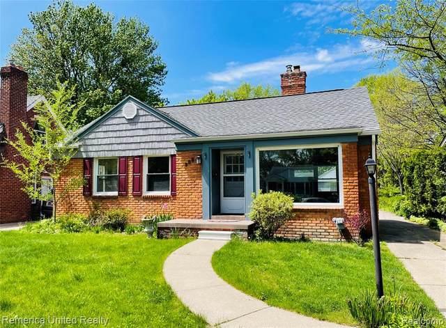 908 Lloyd Avenue, Royal Oak, MI 48073 (#2210033735) :: The Alex Nugent Team | Real Estate One