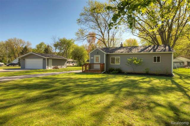 18017 Sumpter Road, Sumpter Twp, MI 48111 (#2210033963) :: The Mulvihill Group
