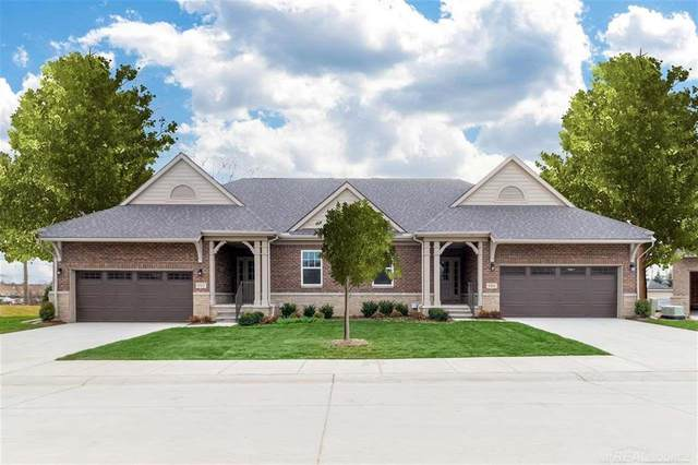 992 Cottage Lane #1, Troy, MI 48085 (#58050041324) :: Keller Williams West Bloomfield