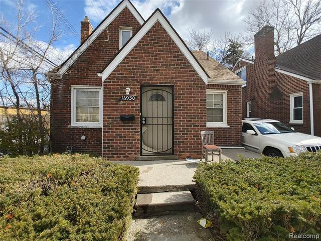 16930 Monte Vista Street, Detroit, MI 48221 (#2210034244) :: The BK Agency