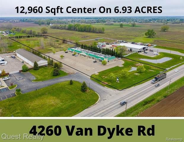 4260 Van Dyke Rd, Almont Twp, MI 48003 (#2210034301) :: RE/MAX Nexus