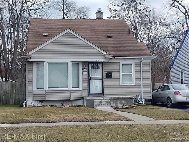 15430 Strathmoor St, Detroit, MI 48227 (#2210034455) :: The BK Agency