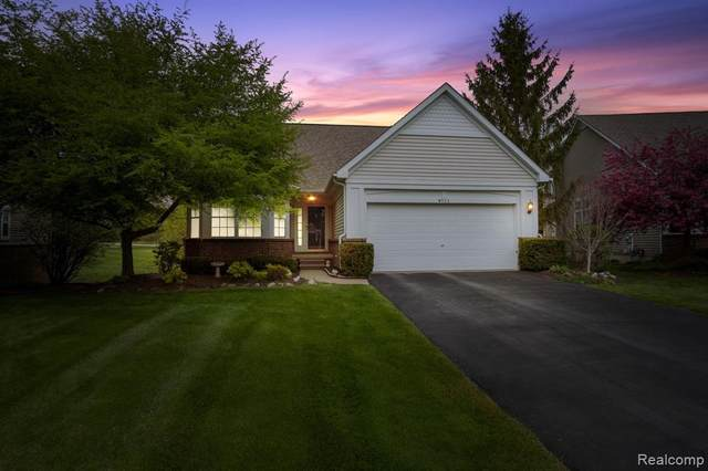 4923 New Haven Dr #40, Howell, MI 48843 (#2210034542) :: Real Estate For A CAUSE