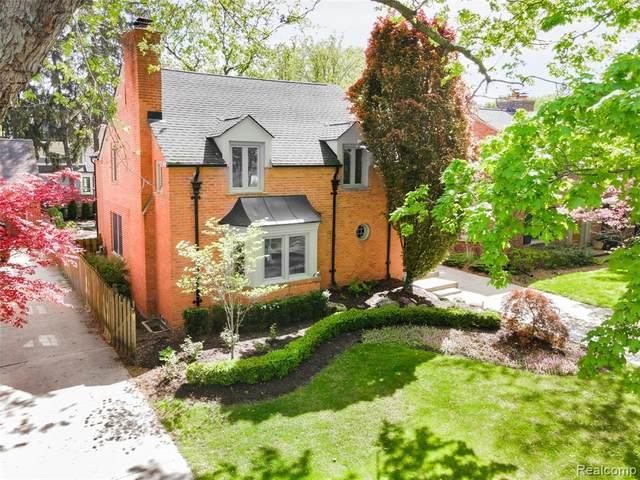 1825 Pine Street, Birmingham, MI 48009 (#2210034577) :: Keller Williams West Bloomfield