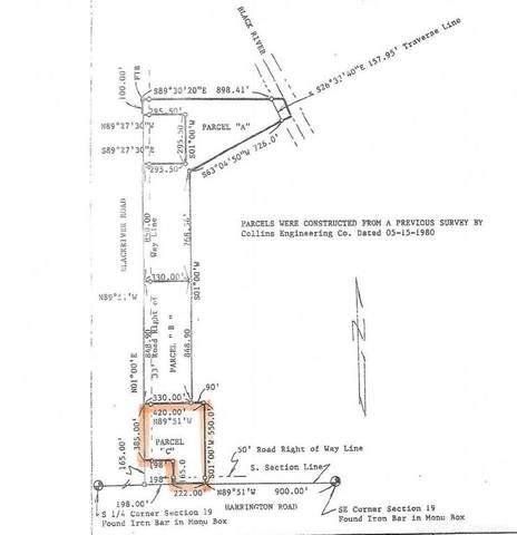 0 (Parcel C) Black River Rd., Lexington Twp, MI 48422 (#58050041513) :: Real Estate For A CAUSE