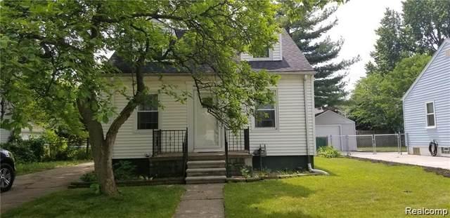 19446 Elkhart St, Harper Woods, MI 48225 (#2210034667) :: The Alex Nugent Team | Real Estate One