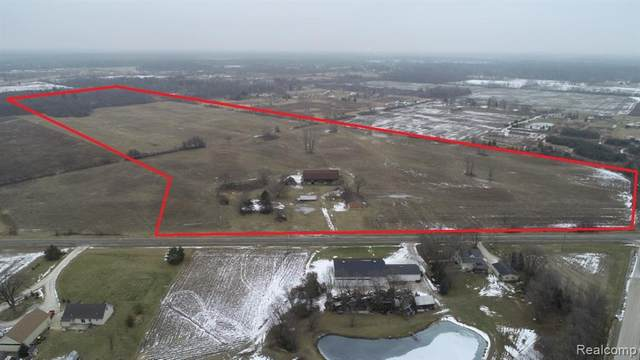 6208 Rattle Run Road, ST. CLAIR TWP, MI 48079 (#2210034692) :: Alan Brown Group