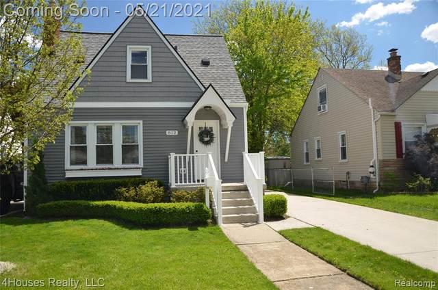 812 N Edison Avenue, Royal Oak, MI 48067 (#2210034700) :: Alan Brown Group