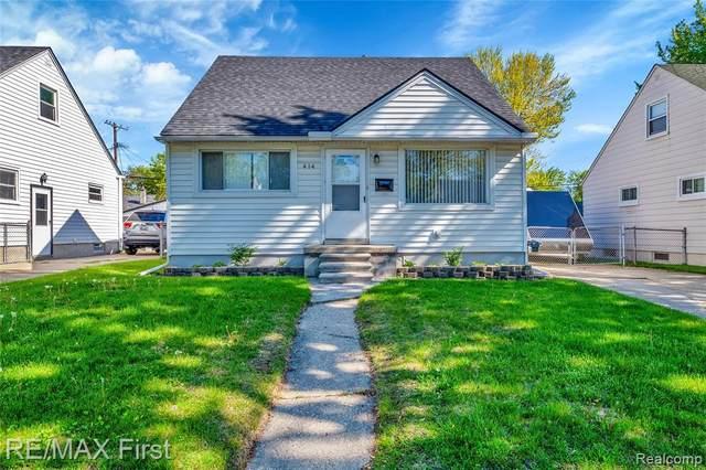 414 W Tacoma Street, Clawson, MI 48017 (#2210034715) :: The BK Agency