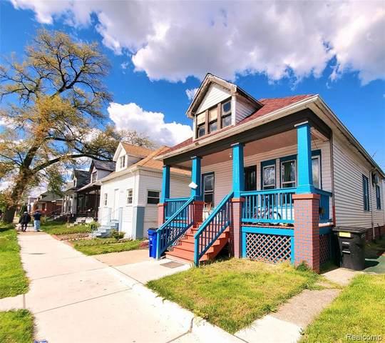 12526 Klinger Street, Detroit, MI 48212 (#2210034740) :: The Mulvihill Group
