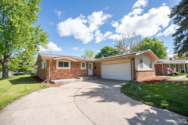 2192 Eva Drive, Troy, MI 48083 (#2210034800) :: Keller Williams West Bloomfield