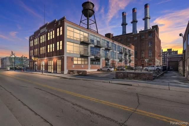 55 W Canfield Street #307, Detroit, MI 48201 (#2210034849) :: Novak & Associates
